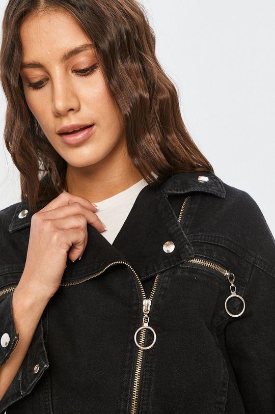 negru Answear - Geaca jeans Answear Lab