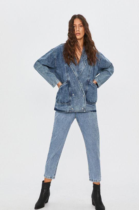 Answear Lab - Geaca jeans albastru