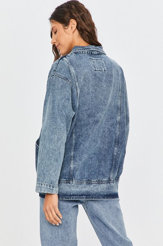 Answear Lab - Geaca jeans  100% Bumbac