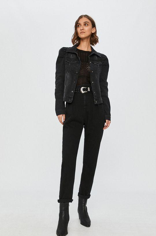 Answear Lab - Джинсовая куртка чёрный