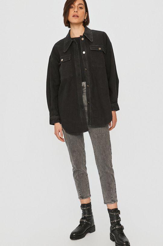 Answear Lab - Džínová bunda černá