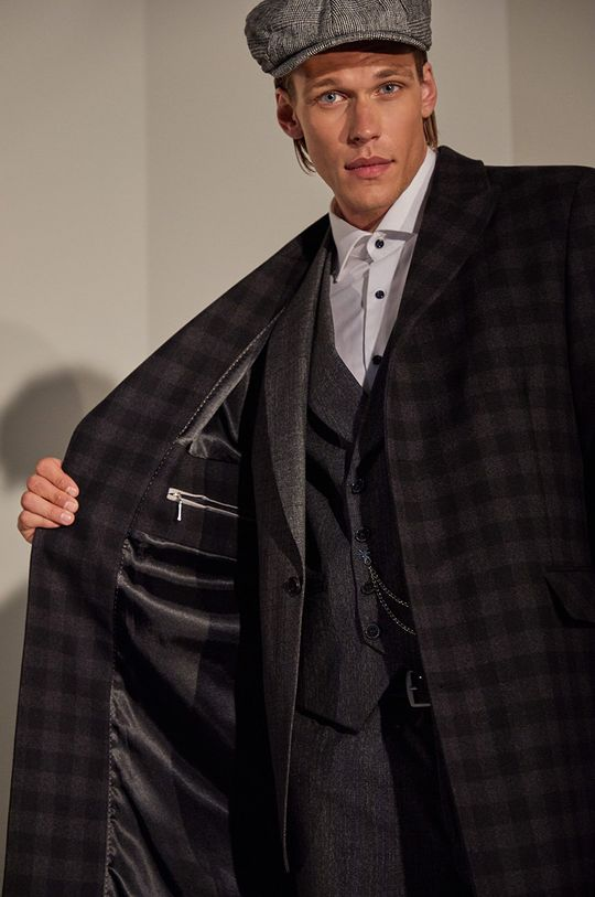 negru answear.LAB limited collection - Palton De bărbați