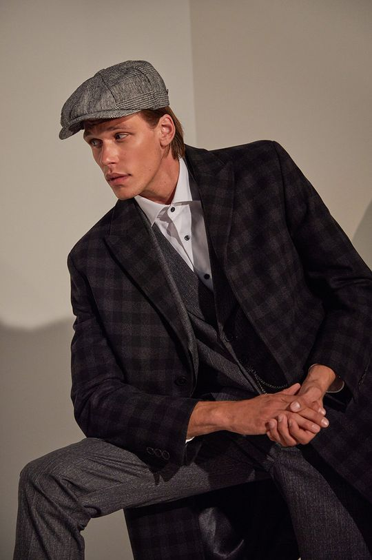 answear.LAB limited collection - Palton  10% Casmir, 10% Poliamida, 80% Lana