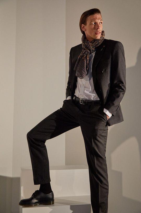 černá Answear.LAB limitovaná kolekce - Oblek Pánský