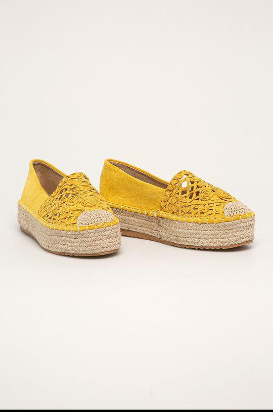 Answear - Espadrilky Well Spring žlutá