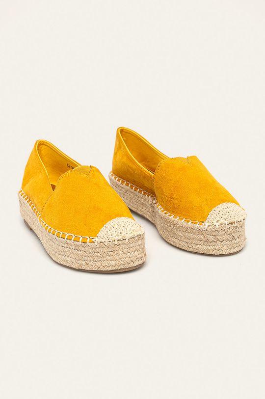 Answear - Espadrilky žlutá