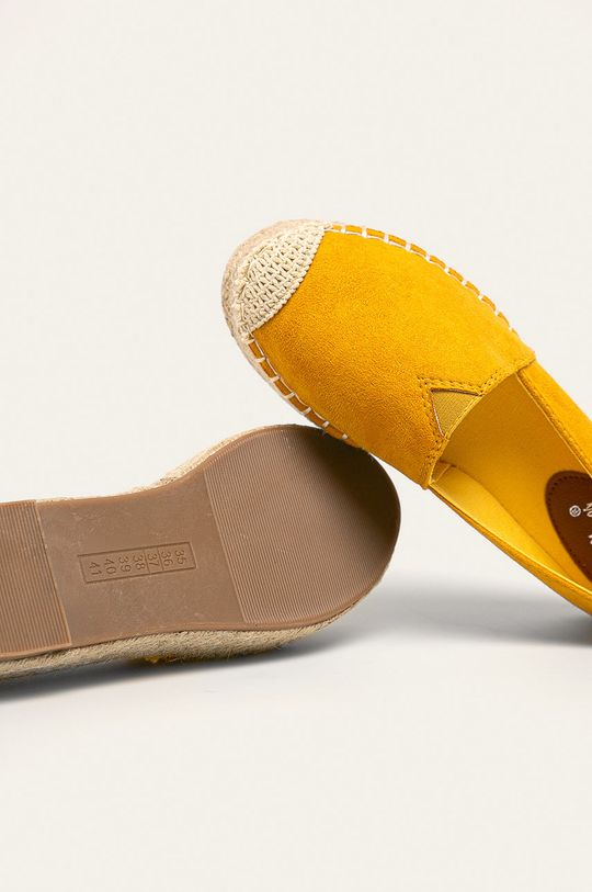 žlutá Answear - Espadrilky