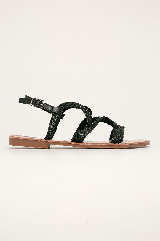negru Answear - Sandale Fly For De femei