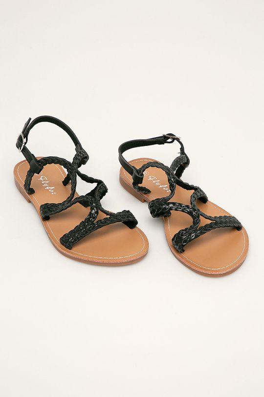Answear - Sandale Fly For negru