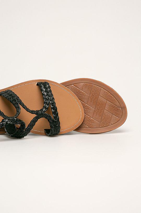 negru Answear - Sandale Fly For