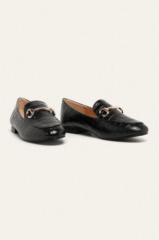 Answear - Mokasíny Answear Lab čierna