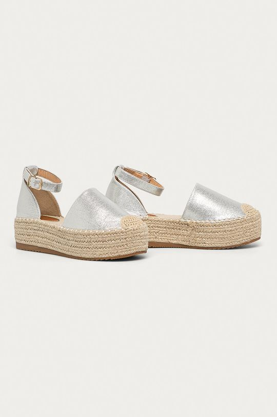 Answear - Espadrile Answear Lab argintiu