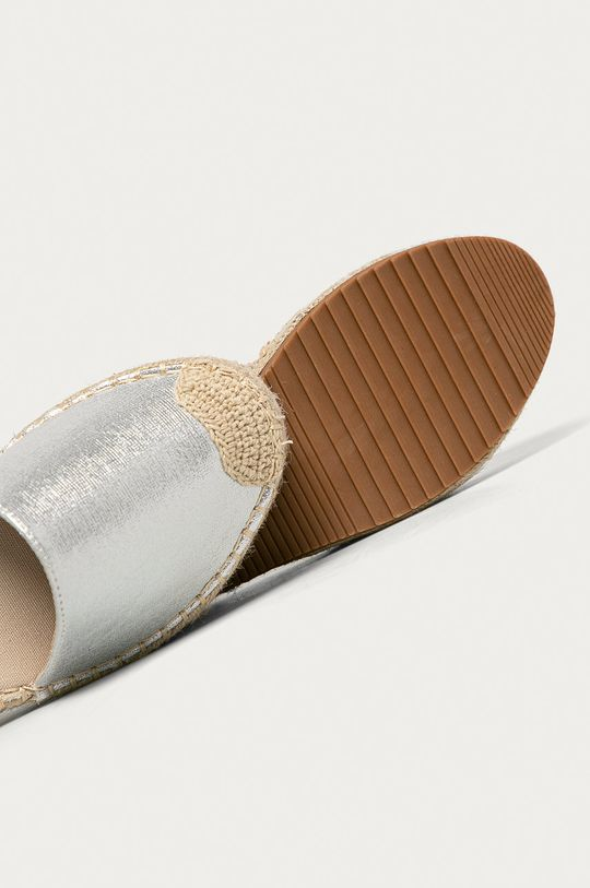 argintiu Answear - Espadrile Answear Lab
