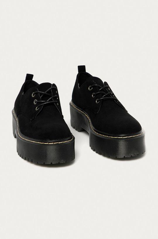 Answear - Pantofi Buonarotti negru