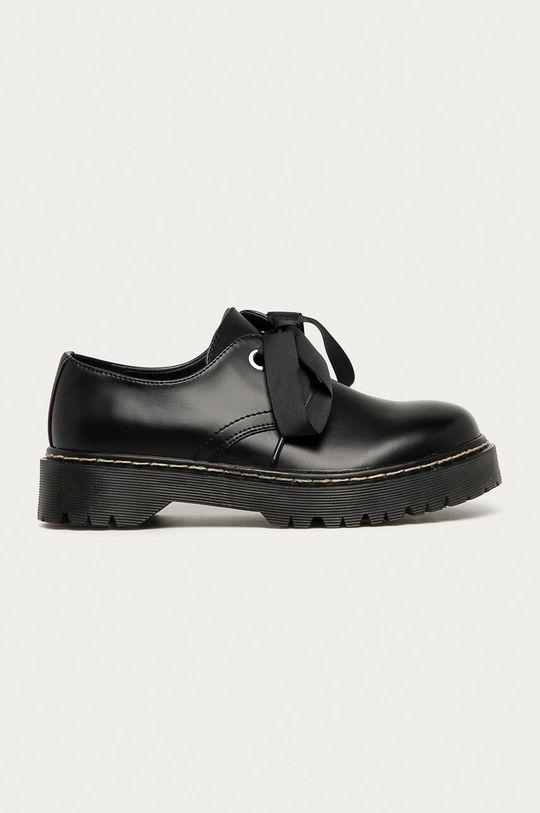 negru Answear - Pantofi Super Mode De femei