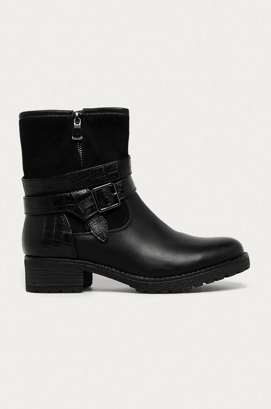 negru Answear - Botine Super mode De femei