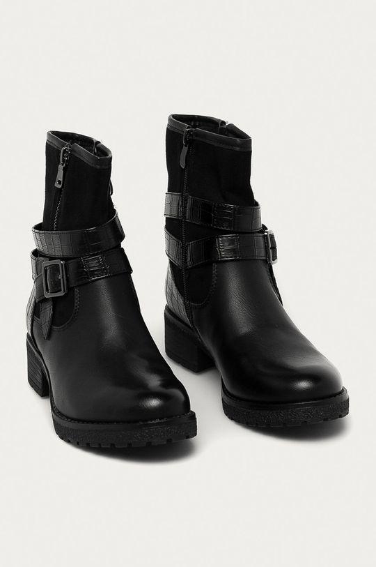 Answear - Členkové topánky Super mode čierna