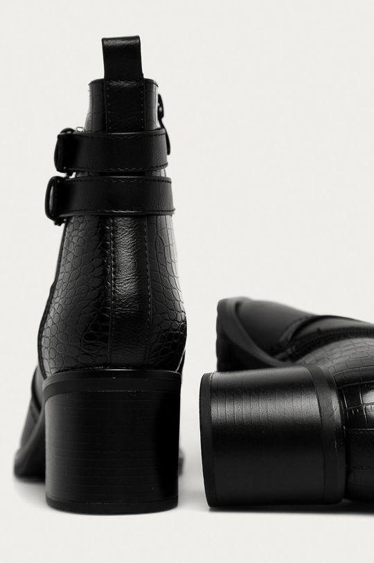 Answear - Botki Answear Lab Cholewka: Materiał syntetyczny, Wnętrze: Materiał tekstylny, Podeszwa: Materiał syntetyczny