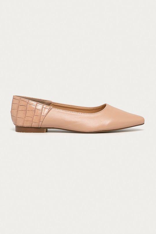béžová Answear - Baleríny CHC-Shoes Dámsky