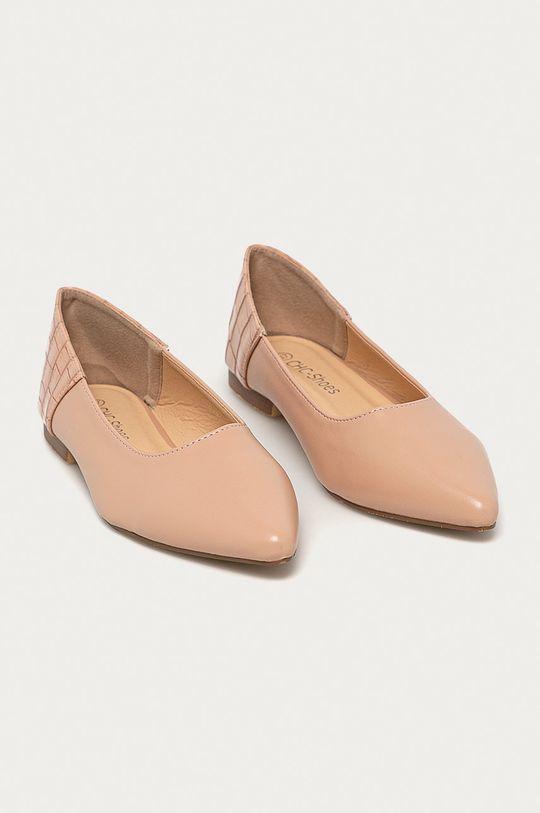 Answear - Baleríny CHC-Shoes béžová