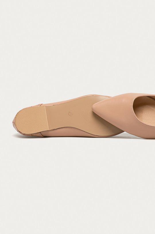 béžová Answear - Baleríny CHC-Shoes
