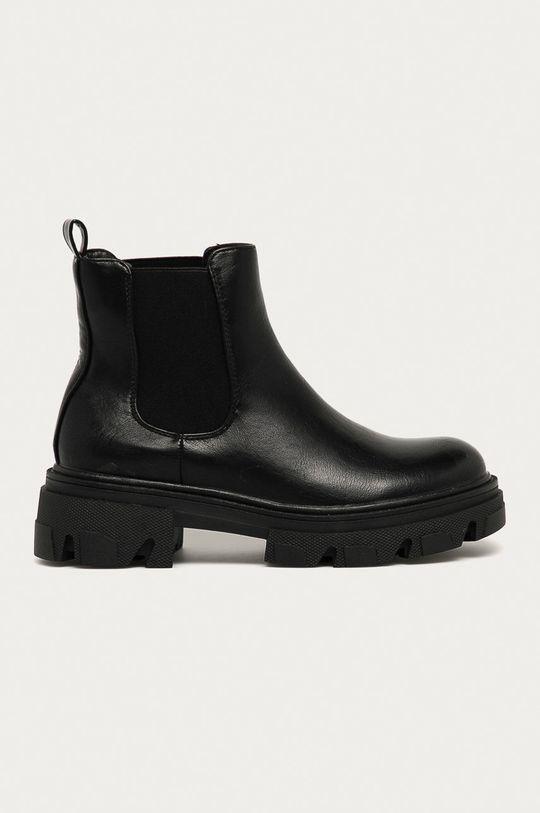 černá Answear - Boty s gumou Fashion&Bella Dámský