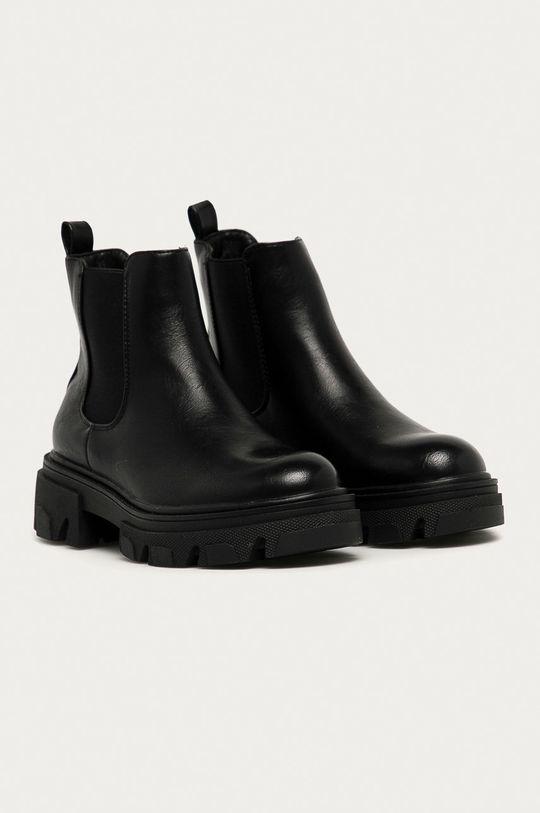 Answear - Boty s gumou Fashion&Bella černá