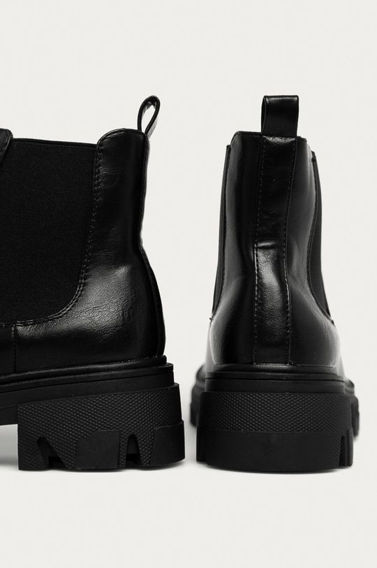 Answear - Boty s gumou Fashion&Bella  Svršek: Umělá hmota Vnitřek: Umělá hmota, Textilní materiál Podrážka: Umělá hmota
