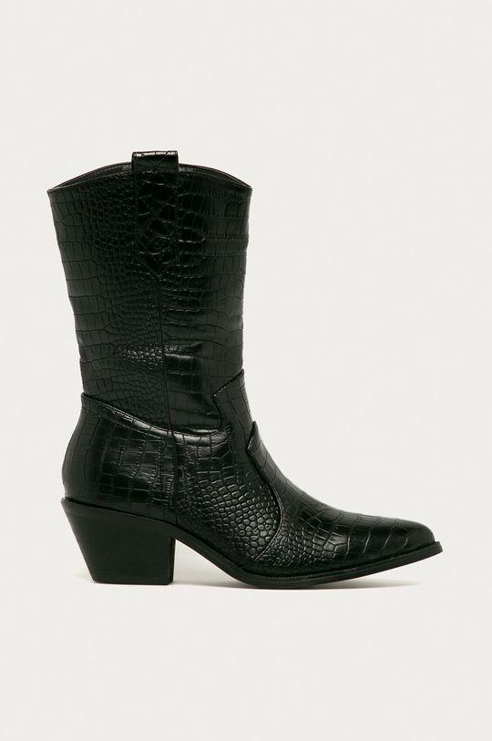 čierna Answear - Kovbojské topánky Girlhood Dámsky