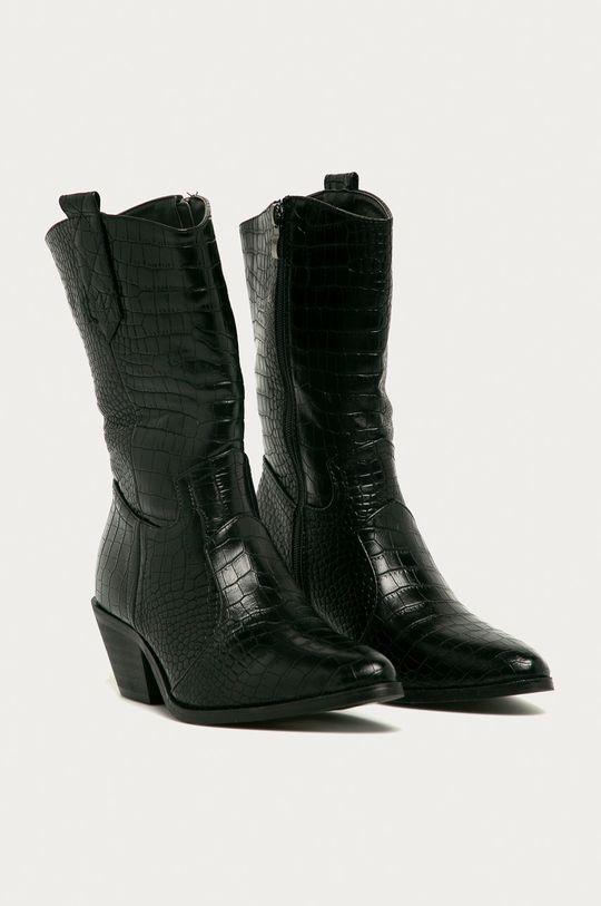Answear - Kovbojské topánky Girlhood čierna
