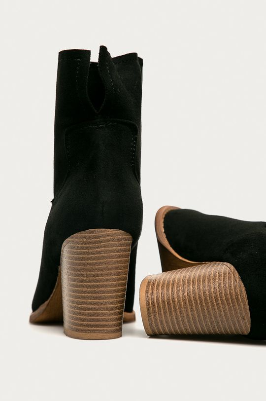 Answear - Botine Erynn  Gamba: Material textil Interiorul: Material sintetic, Material textil Talpa: Material sintetic