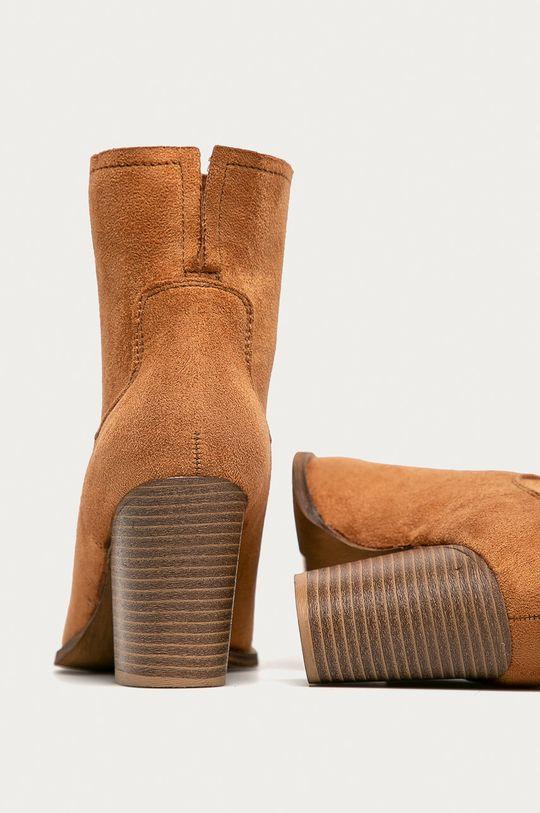 zlatohnedá Answear - Kovbojské topánky Erynn