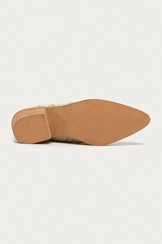 béžová Answear - Kovbojské topánky Bellucci
