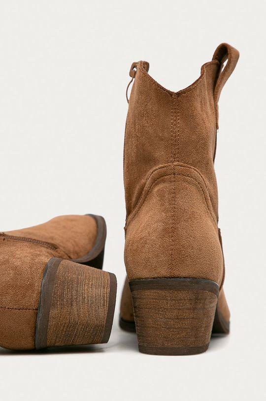 złoty brąz Answear - Kowbojki Answear Lab