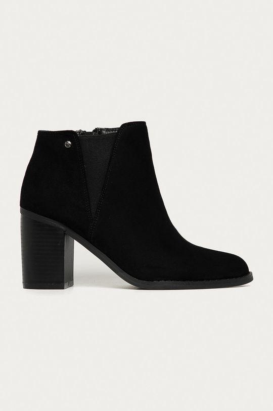 čierna Answear Lab - Členkové topánky Prisska Dámsky