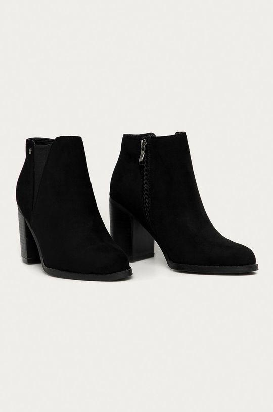 Answear Lab - Členkové topánky Prisska čierna