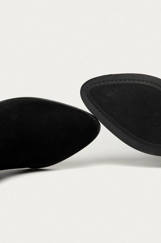 čierna Answear Lab - Členkové topánky Prisska