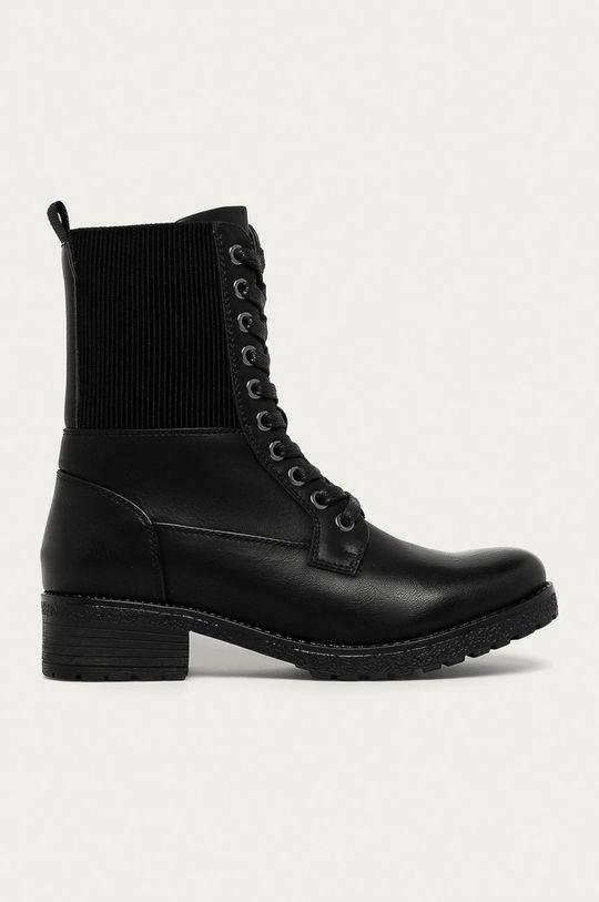 negru Answear Lab - Bocanci Super Mode De femei