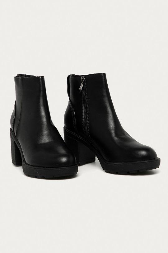 Answear Lab - Členkové topánky Buonarotti čierna