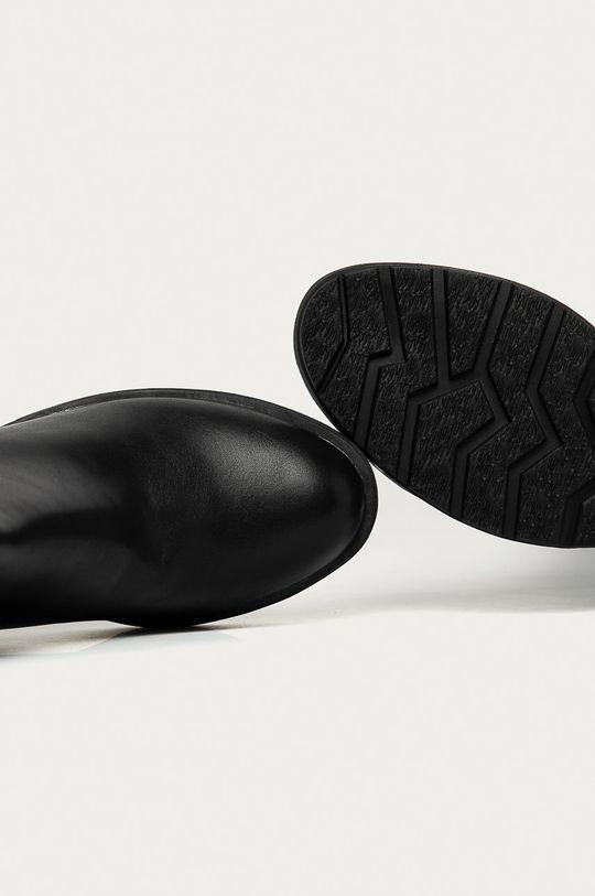 čierna Answear Lab - Členkové topánky Buonarotti