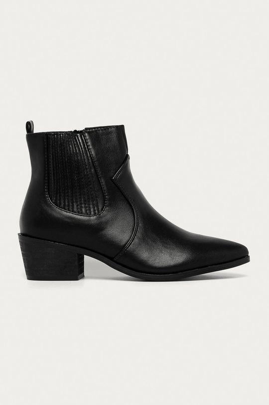 čierna Answear Lab - Topánky Chelsea Dámsky