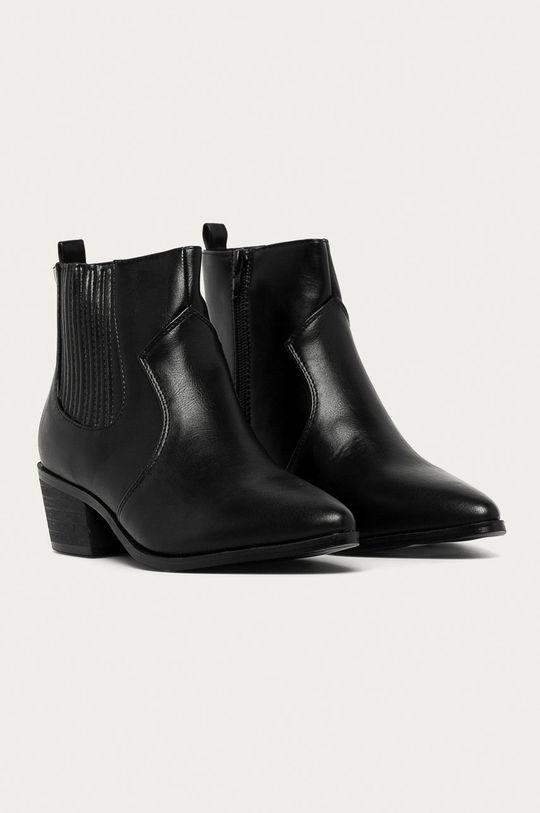 Answear Lab - Topánky Chelsea čierna