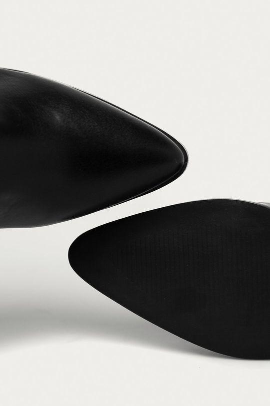 čierna Answear Lab - Topánky Chelsea