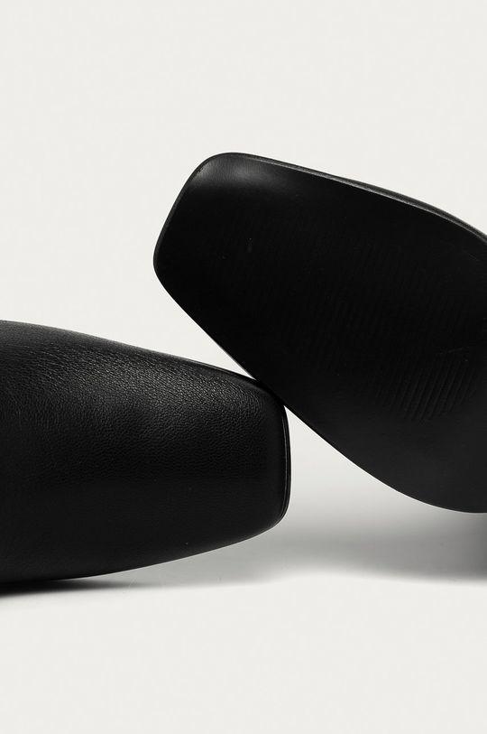 čierna Answear Lab - Členkové topánky