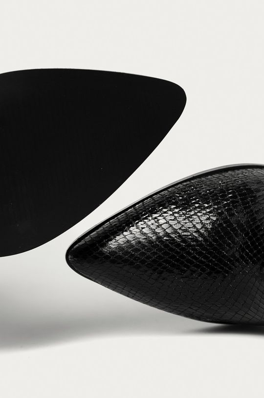 czarny Answear Lab - Botki La Bottine