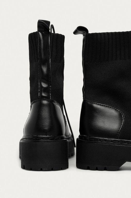 Answear Lab - Nízké kozačky La Bottine  Svršek: Umělá hmota, Textilní materiál Vnitřek: Textilní materiál Podrážka: Umělá hmota