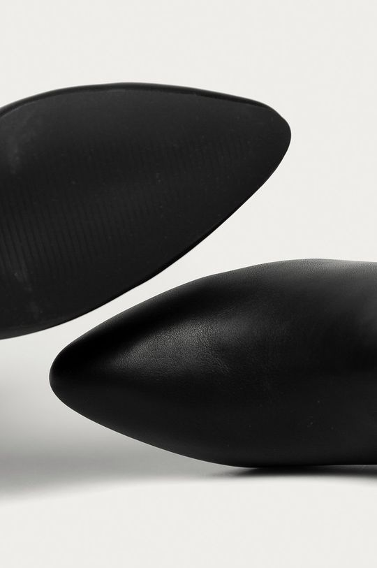 černá Answear Lab - Boty s gumou Moov