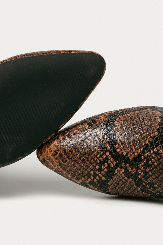 hnedá Answear Lab - Topánky Chelsea Moov