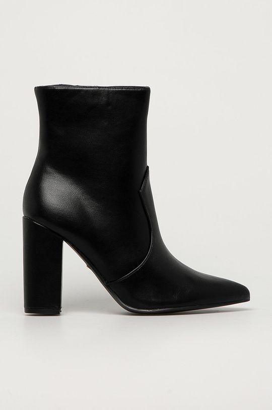 čierna Answear Lab - Členkové topánky Tulipano Dámsky