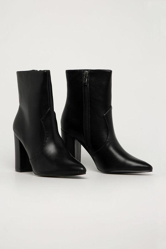 Answear Lab - Členkové topánky Tulipano čierna